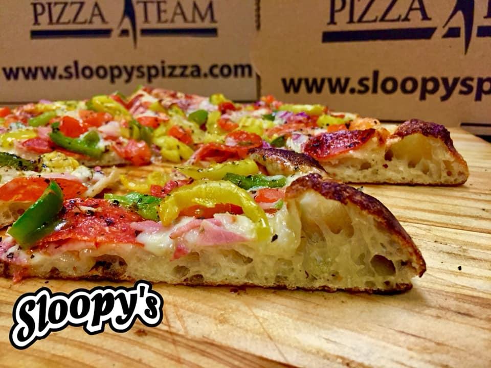 sloopy's hot italian pizza