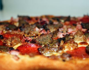 Image of 5 Meat Treat Pizza