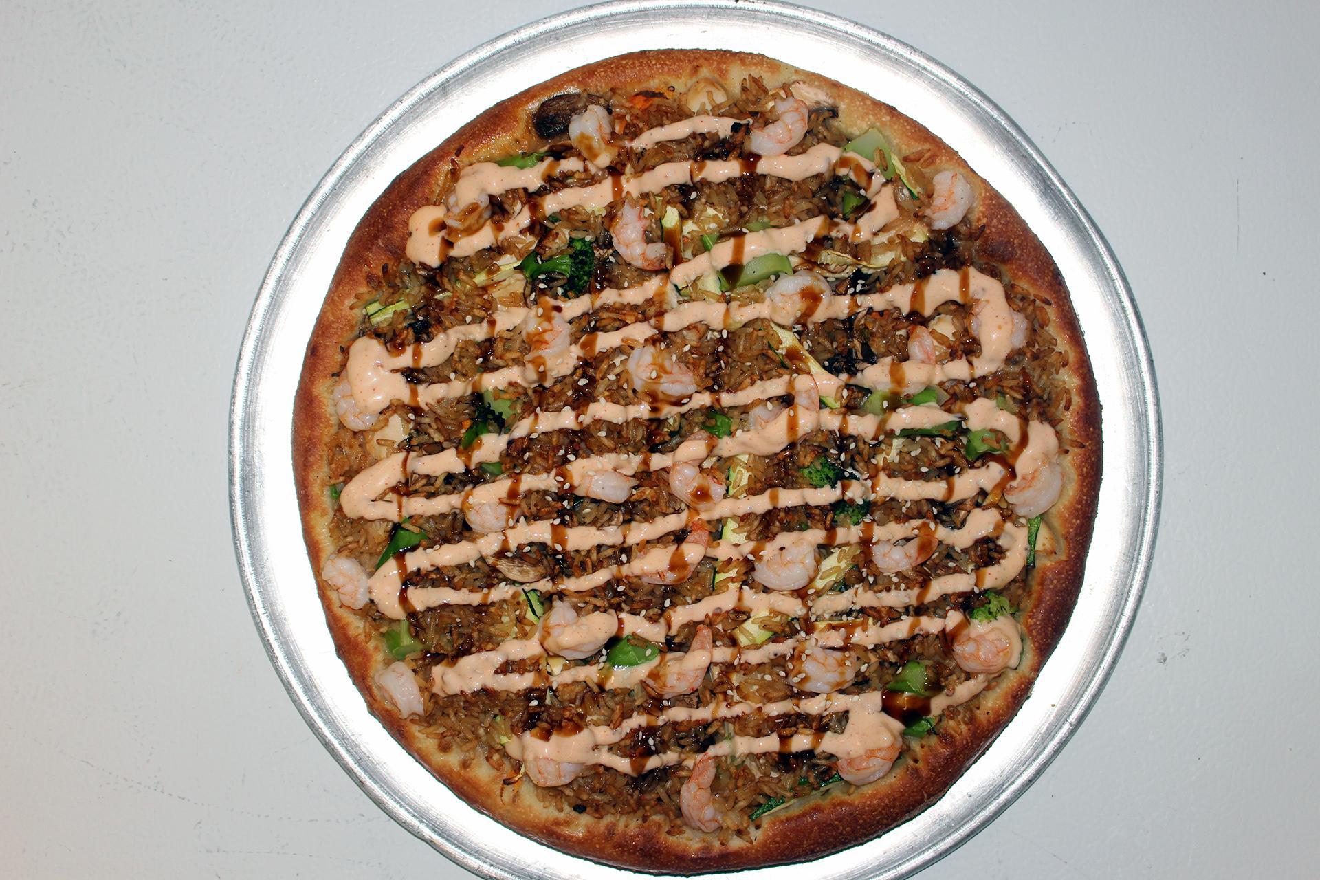 Image of The Hibachi Pizza